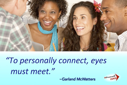 networking, making friends, face to face communication, Garland McWatters, Tulsa Oklahoma, self-development