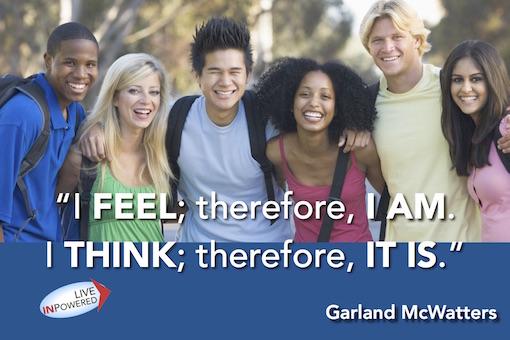 Garland McWatters, author, Tulsa Oklahoma, self-improvement, leadership, empowerment, quotes