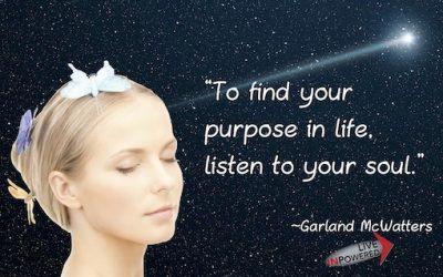 Soul purpose in life