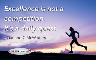 Seek excellence