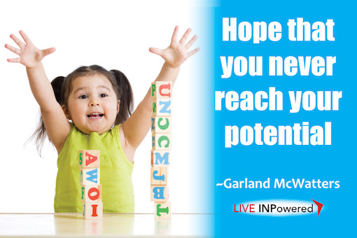 Garland McWatters, author, Tulsa OK, potential, human potential, success, learning