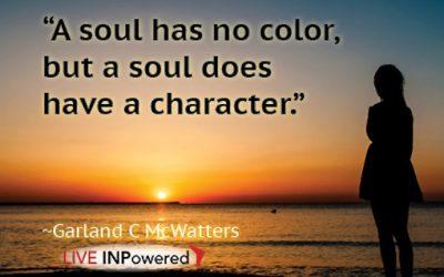 A soul has no color