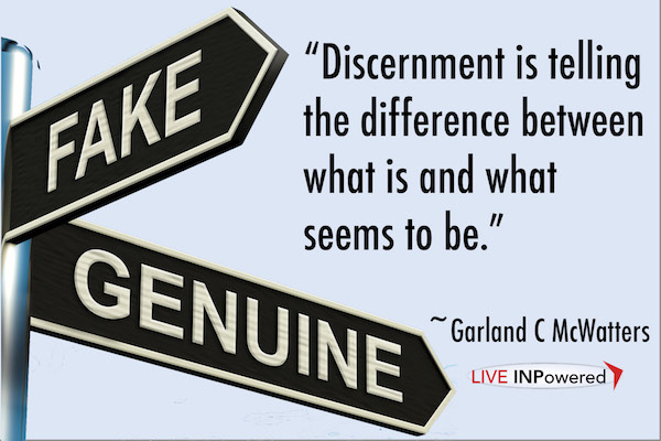 Garland McWatters, author, Tulsa OK, discernment, decision making, fraud, authenticity, truth
