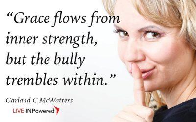 Grace flows from inner strength