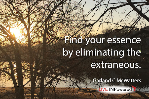 Garland McWatters, Inpowering Thoughts, authenticity, self-reflection,