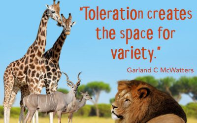 Toleration promotes creativity