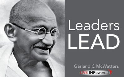 Leaders lead
