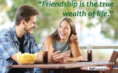 Friends are life's treasure