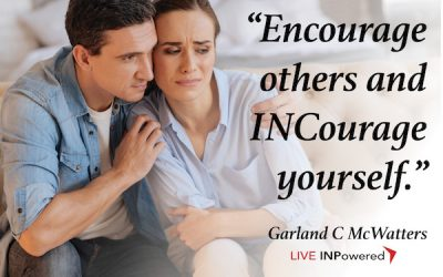 Encouragers are INCouraged