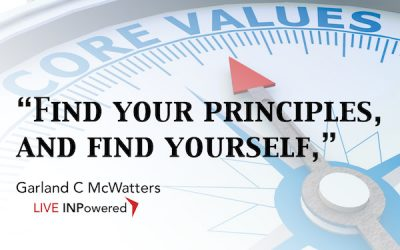 You are your principles