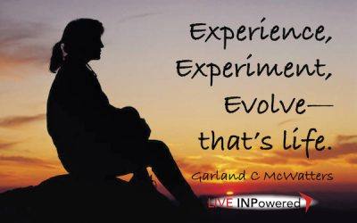 Experience-experiment-evolve