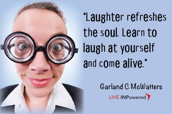 Garland McWatters, author, leadership Tulsa, self-concept, self-acceptance, self-image, INPowering Thoughts