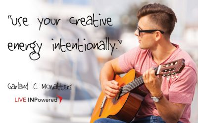 Use your creative energy intentionally