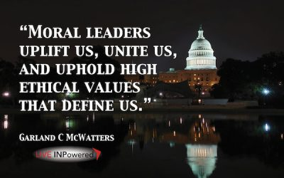 Moral leaders uplift us