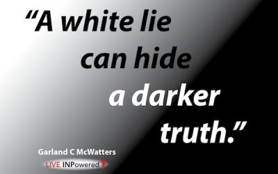 White lies and darker truths