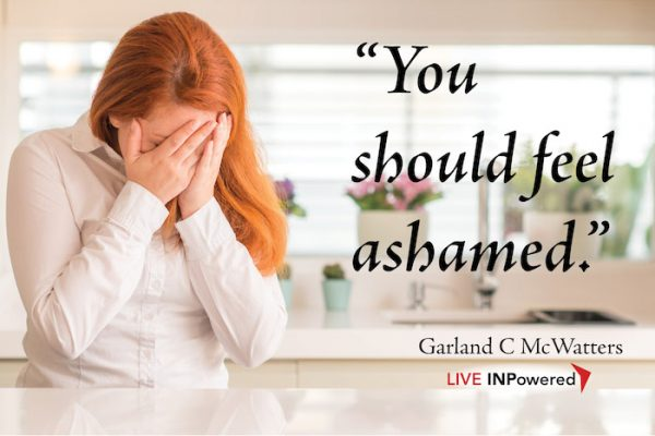 Garland McWatters, shame, grief, guilt, morality, forgiveness, Leadership trainer in Oklahoma