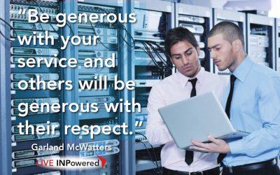 Respect through service