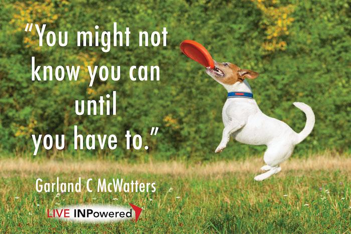 Garland McWatters, leadership training Oklahoma, adaptability, learning, change