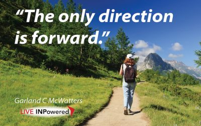 The only direction is Forward