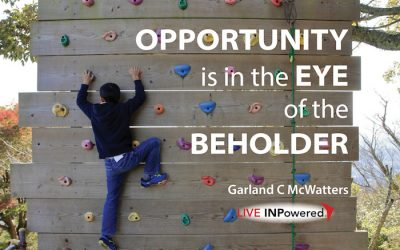 Opportunity is in the eye of the beholder