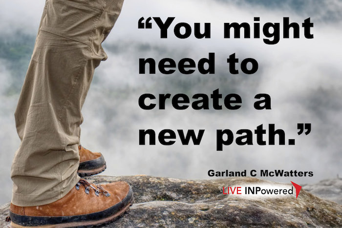 Garland McWatters, Leadership trainer Oklahoma, change, progress, vision, challenge, daring, change making, leadership,