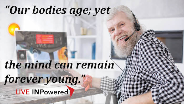 Garland McWatters, Leadership trainer Oklahoma, life long learning, age, youth, thinking, mental age, brain, intelligence, mentally young, old age
