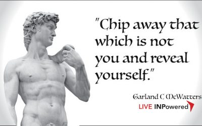 Chip away what is NOT you