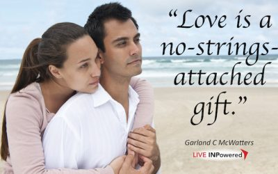 Love is a no-strings-attached gift