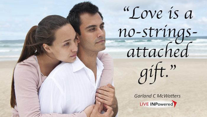 Garland McWatters, Tulsa, Oklahoma, leadership trainer, love, tight, gift giving, sacrifice, generosity