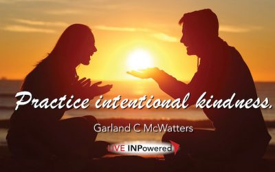 Practice intentional kindness
