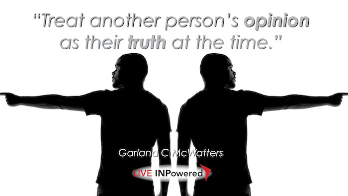 Garland McWatters, Tulsa, Oklahoma, leadership writer, truth, opinion, disagreement, conflict resolution