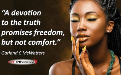 Truth promises freedom, but not comfort