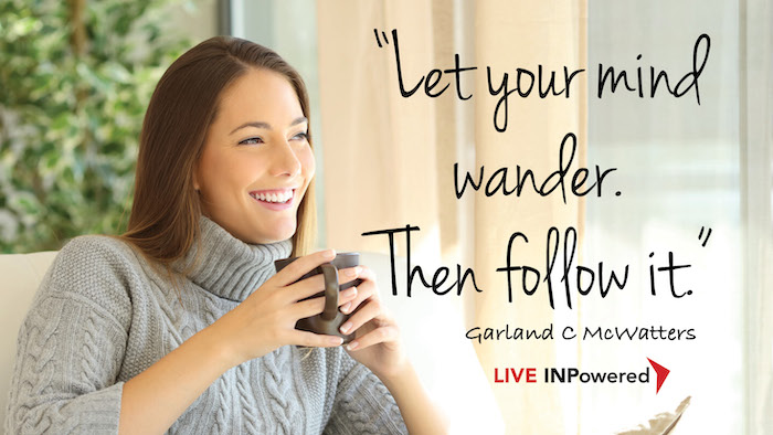 Garland McWatters, Tulsa, Oklahoma, leadership writer, imagination, day dreaming, visualization, creativity