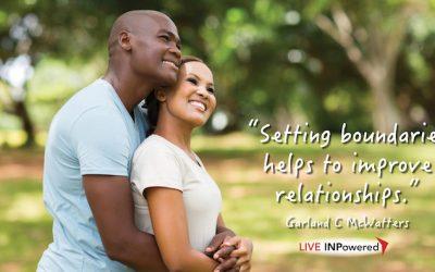 Boundaries help improve relationships