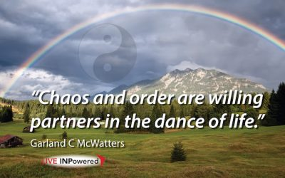 Chaos and order are willing partners
