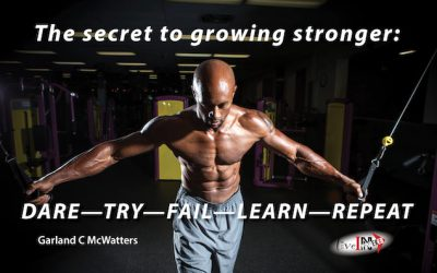 The secret to growing stronger