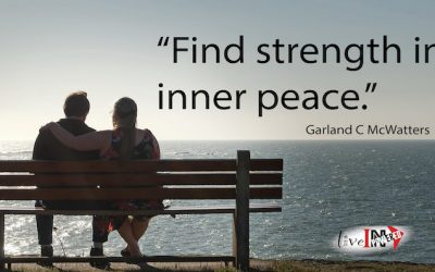 Find strength in inner peace