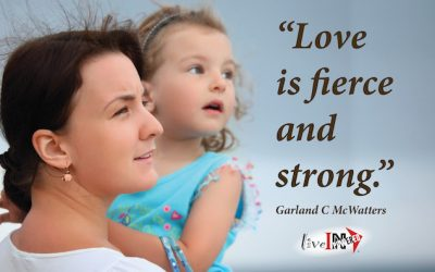 Love is fierce and strong