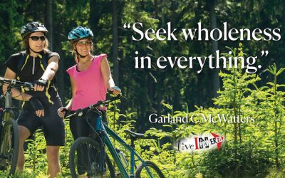 Seek wholeness in everything