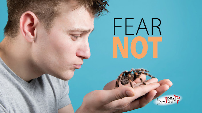Garland McWatters, INPowering Thoughts, author, Tulsa Oklahoma, fear, overcoming fear, fear not, intimidation, courage, phobias