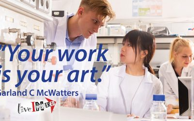 Your work is your art